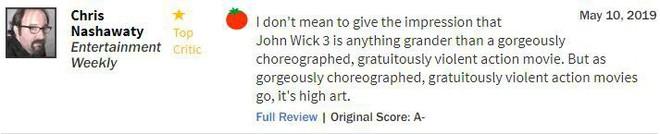 John Wick 3 đạt 97% rating trên Rotten Tomatoes, tuyệt phẩm hành động là đây chứ đâu - Ảnh 9.