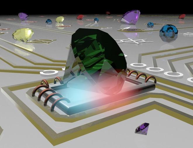 Sử dụng ánh sáng phát ra từ các hạt kim cương siêu nhỏ, Tiến sĩ người Việt đo được nhiệt độ ở kích thước nano - Ảnh 1.