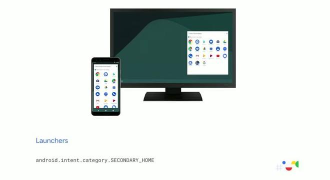 Android Q có chế độ Desktop chính chủ, biến smartphone thành máy tính để bàn - Ảnh 1.