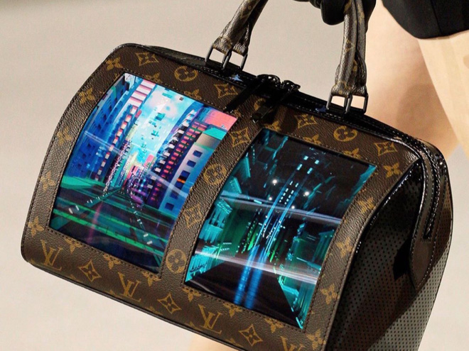 Louis Vuitton tích hợp màn hình OLED vào túi xách, thời gian hiển thị lên đến 4 tiếng - Ảnh 4.