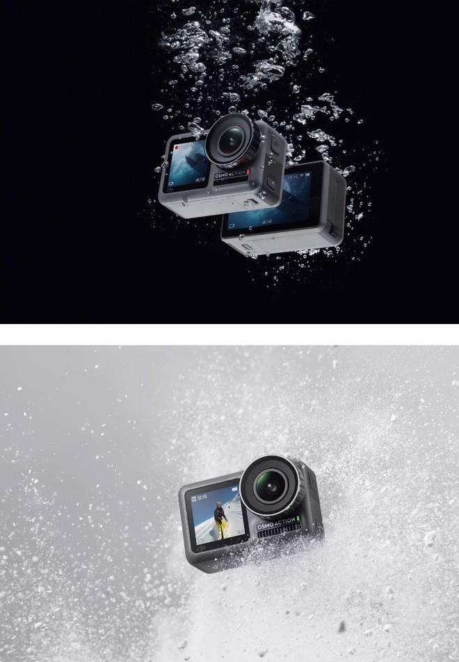 DJI công bố action-cam đầu tay mang tên Osmo Action: Đã đến lúc GoPro phải run sợ? - Ảnh 3.