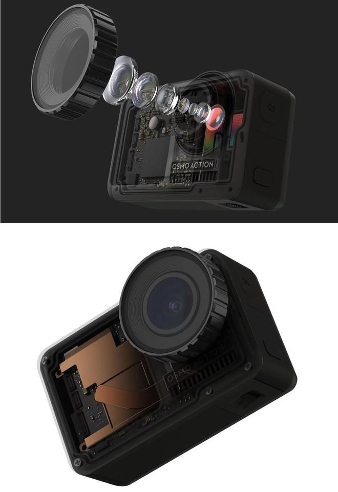 DJI công bố action-cam đầu tay mang tên Osmo Action: Đã đến lúc GoPro phải run sợ? - Ảnh 6.