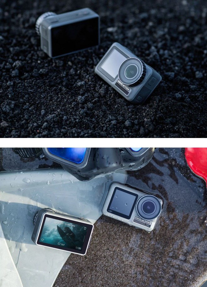 DJI công bố action-cam đầu tay mang tên Osmo Action: Đã đến lúc GoPro phải run sợ? - Ảnh 7.