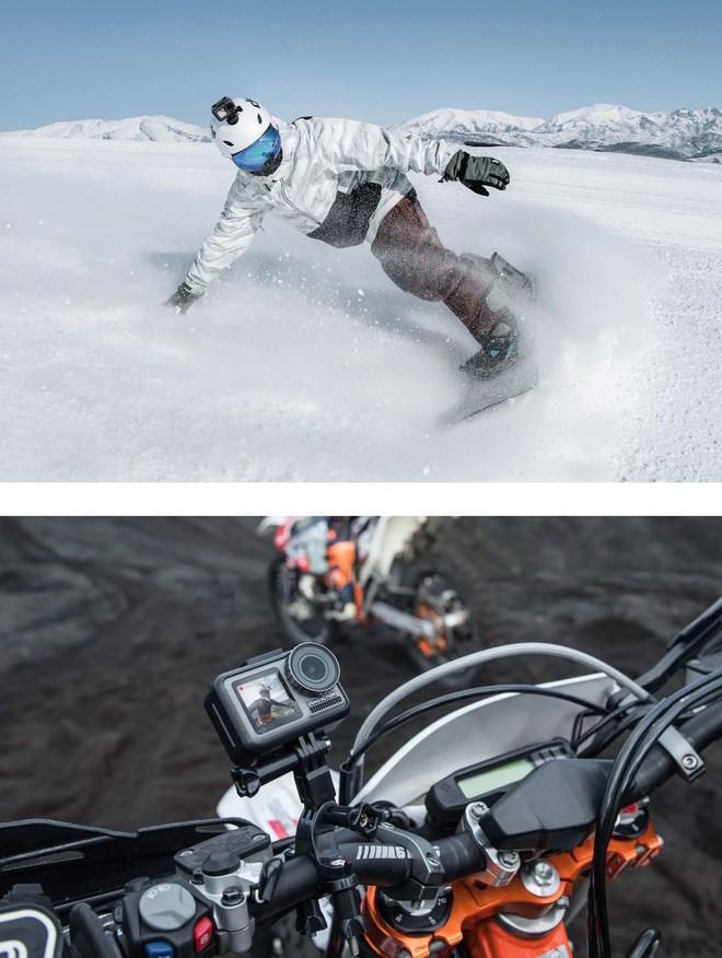 DJI công bố action-cam đầu tay mang tên Osmo Action: Đã đến lúc GoPro phải run sợ? - Ảnh 8.