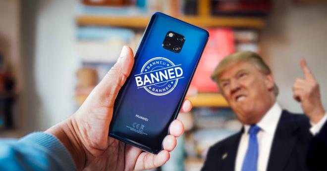 Tổng thống Donald Trump chuẩn bị ký sắc lệnh cấm toàn bộ thiết bị Huawei tại Mỹ - Ảnh 1.
