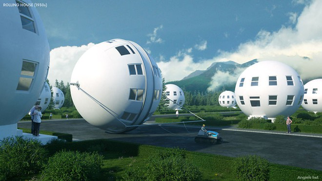 Đây là cách người xưa mường tượng ra nhà ở của thế giới tương lai từ hơn 100 năm trước - Ảnh 3.