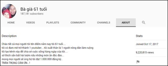 Nông dân làm YouTube: Lại thêm cụ bà đạt 200.000 sub chỉ sau 1 tuần, hóa ra là nhờ một lý do dễ đoán - Ảnh 2.