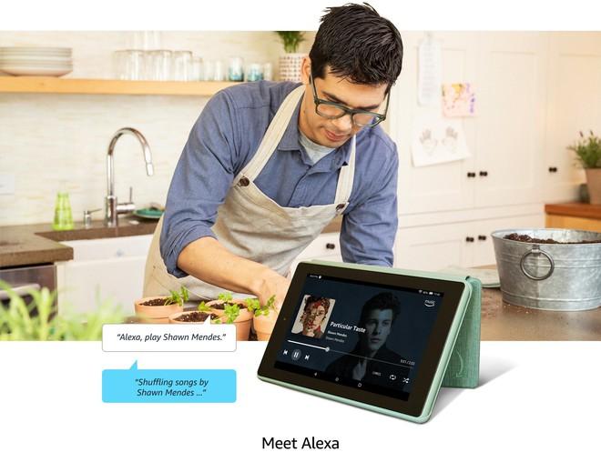 Amazon ra mắt máy tính bảng Fire 7, giá chỉ từ 1.2 triệu đồng - Ảnh 1.