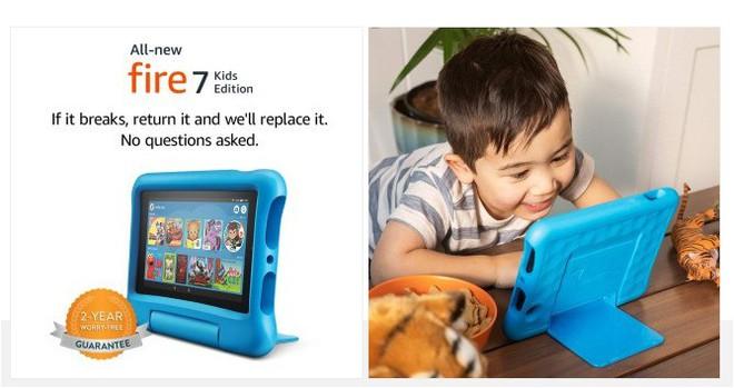 Amazon ra mắt máy tính bảng Fire 7, giá chỉ từ 1.2 triệu đồng - Ảnh 3.