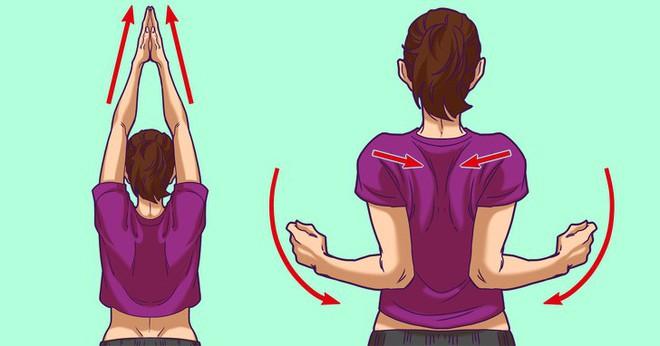 Bài tập đơn giản giúp dân văn phòng giảm đau vai-gáy chỉ trong 5 phút - Ảnh 5.