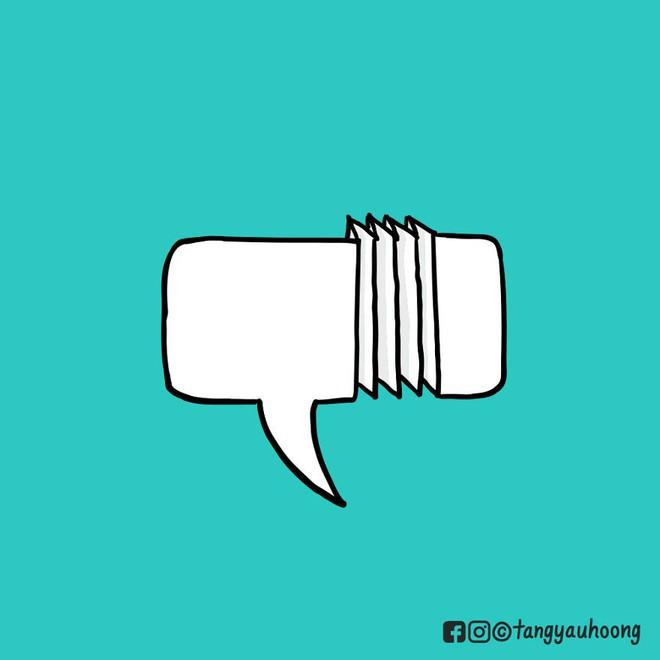 Bong bóng thoại là gì và vì sao nó có thể kể chuyện mà không cần chữ? - Ảnh 7.
