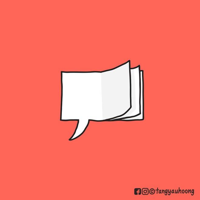 Bong bóng thoại là gì và vì sao nó có thể kể chuyện mà không cần chữ? - Ảnh 12.