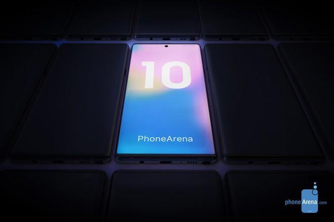 """Galaxy Note 10/Note 10 Pro sẽ có thay đổi lớn về thiết kế: Vị trí """"nốt ruồi"""" thay đổi, cụm camera sau không còn nằm ngang - Ảnh 1."""