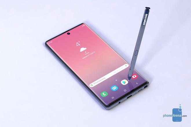 """Galaxy Note 10/Note 10 Pro sẽ có thay đổi lớn về thiết kế: Vị trí """"nốt ruồi"""" thay đổi, cụm camera sau không còn nằm ngang - Ảnh 2."""