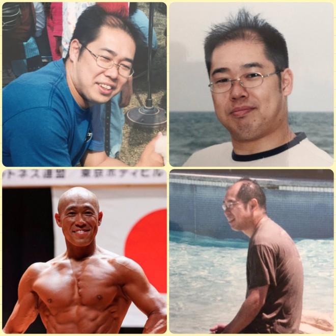 Hành trình làm lại cuộc đời nhờ thể hình của ông chú Nhật Bản hói đầu, bị vợ bỏ - Ảnh 2.