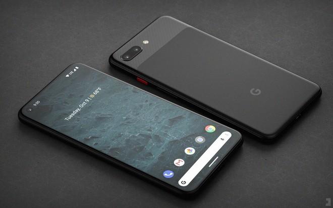 Ngắm concept Google Pixel 4 với màn hình gần như không viền và camera kép ở mặt lưng - Ảnh 1.
