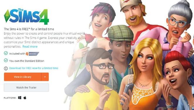 Có thể tải về miễn phí The Sims 4 trên cả Mac lẫn Windows, hạn cuối 28/5 - Ảnh 1.