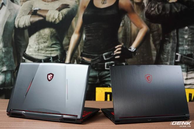 Ảnh thực tế laptop GL63/73 và GF63/75 của MSI: một hầm hố, một cơ động, trang bị Intel Core i thế hệ 9, card đồ họa lên đến RTX 2060 - Ảnh 1.