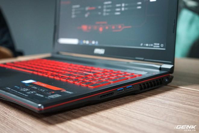 Ảnh thực tế laptop GL63/73 và GF63/75 của MSI: một hầm hố, một cơ động, trang bị Intel Core i thế hệ 9, card đồ họa lên đến RTX 2060 - Ảnh 7.