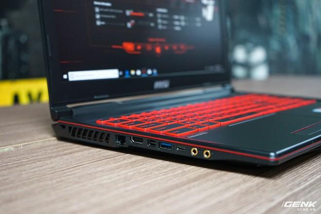 Ảnh thực tế laptop GL63/73 và GF63/75 của MSI: một hầm hố, một cơ động, trang bị Intel Core i thế hệ 9, card đồ họa lên đến RTX 2060 - Ảnh 8.