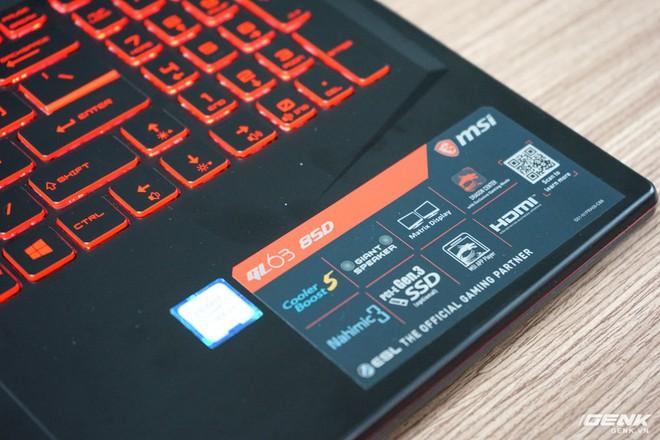 Ảnh thực tế laptop GL63/73 và GF63/75 của MSI: một hầm hố, một cơ động, trang bị Intel Core i thế hệ 9, card đồ họa lên đến RTX 2060 - Ảnh 9.