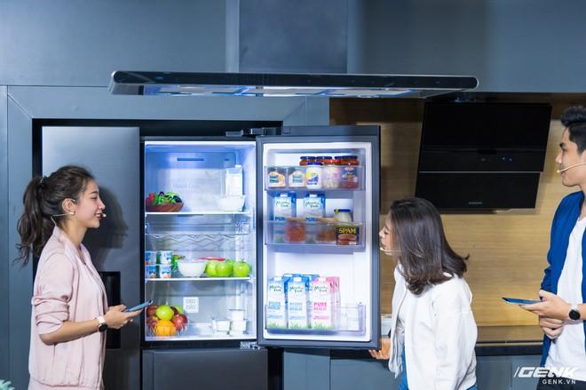 Đi chơi Samsung Showcase bắt gặp tủ lạnh thế hệ 2019 hoàn toàn mới, cực xịn sò - Ảnh 3.