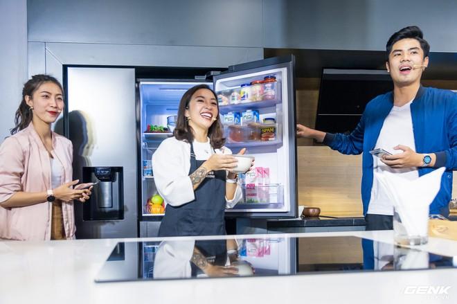 Đi chơi Samsung Showcase bắt gặp tủ lạnh thế hệ 2019 hoàn toàn mới, cực xịn sò - Ảnh 4.