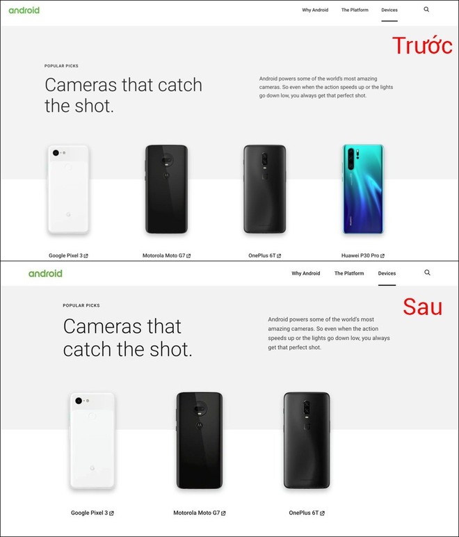 Google xóa tên Huawei khỏi website chính thức của Android - Ảnh 2.