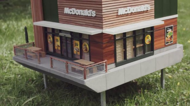 McDonalds khai trương McHive, nhà hàng tí hon dành riêng cho ong - Ảnh 16.