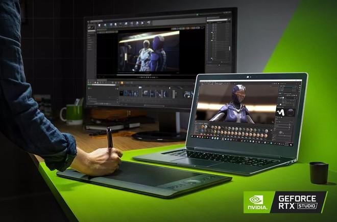 [Computex 2019] Nvidia công bố dòng laptop mới mang tên Studio để đối đầu trực tiếp với MacBook Pro - Ảnh 1.