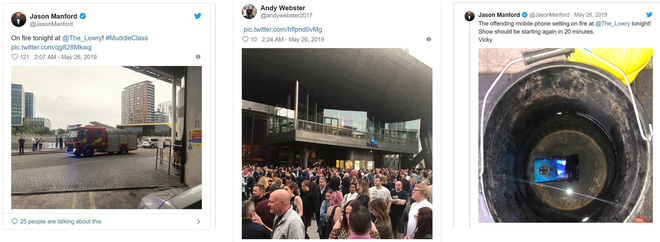 Huawei Mate 20 Pro phát nổ khiến rạp hát tại Anh phải sơ tán khẩn cấp - Ảnh 3.