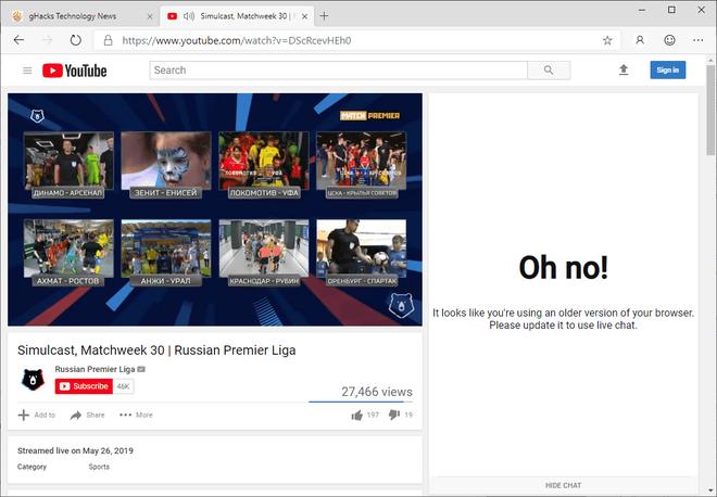 Google chặn không cho trình duyệt Edge mới của Microsoft truy cập thiết kế mới của YouTube - Ảnh 2.
