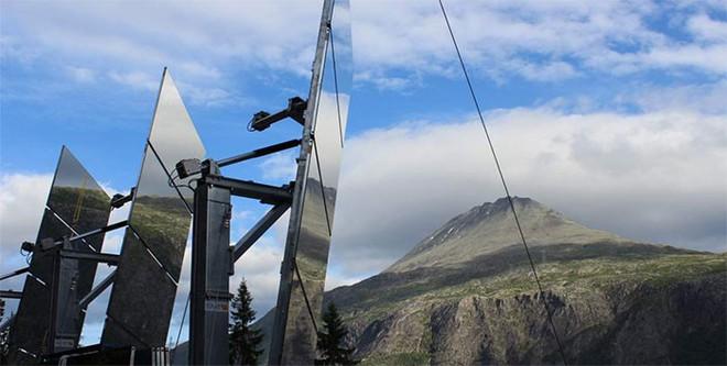 5 tháng trong năm tối như hũ nút, thị trấn Na Uy chi 13 tỷ lắp gương trên núi để phản chiếu ánh mặt trời - Ảnh 8.