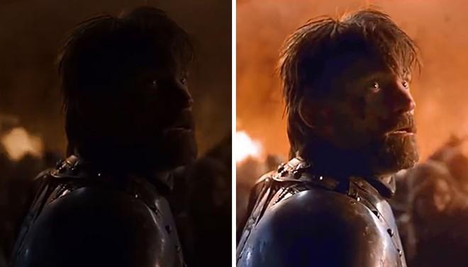 Đạo diễn hình ảnh đổ lỗi cho TV, fan bèn kéo sáng tập 3 SS8 Game of Thrones và phát hiện ra nhiều điều thú vị - Ảnh 14.