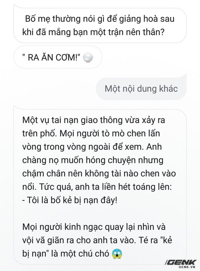 Trải nghiệm Google Assistant tiếng Việt: Thông minh, được việc, giọng êm nhưng đôi lúc đùa hơi nhạt - Ảnh 11.