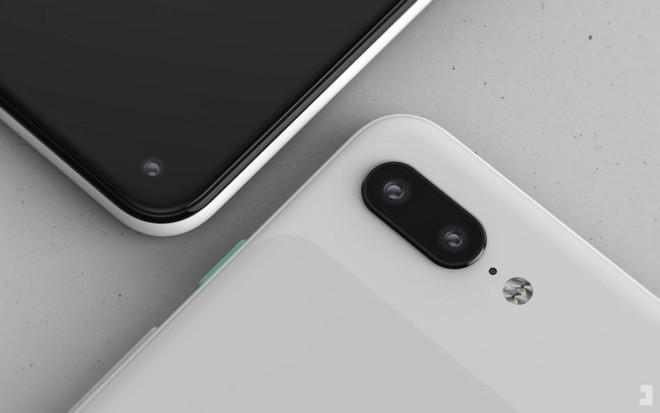 Xuất hiện ảnh dựng Google Pixel 4 với màn hình đục lỗ, thiết kế đẹp hơn iPhone 2019 - Ảnh 1.