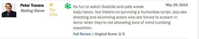 Trước thềm công chiếu, Godzilla 2 khiến giới phê bình chia rẽ sâu sắc - Ảnh 3.