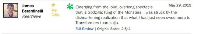 Trước thềm công chiếu, Godzilla 2 khiến giới phê bình chia rẽ sâu sắc - Ảnh 4.