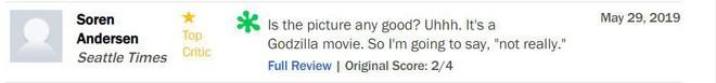 Trước thềm công chiếu, Godzilla 2 khiến giới phê bình chia rẽ sâu sắc - Ảnh 6.