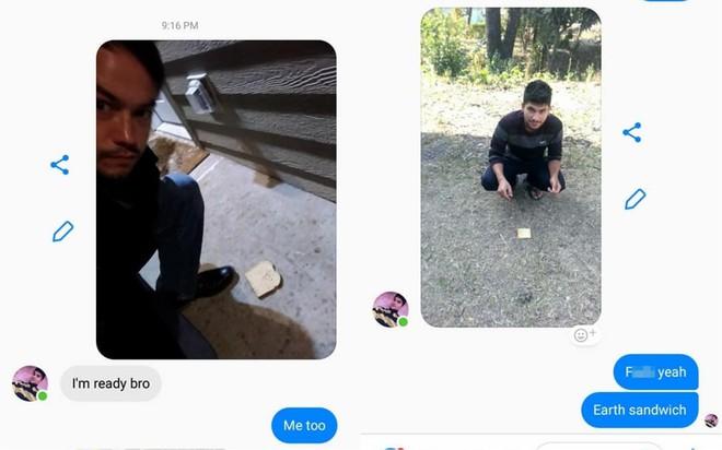 Yêu địa lý, 2 thanh niên trên reddit hẹn nhau làm bánh mì kẹp Trái Đất và thu hút gần 130.000 upvotes - Ảnh 2.