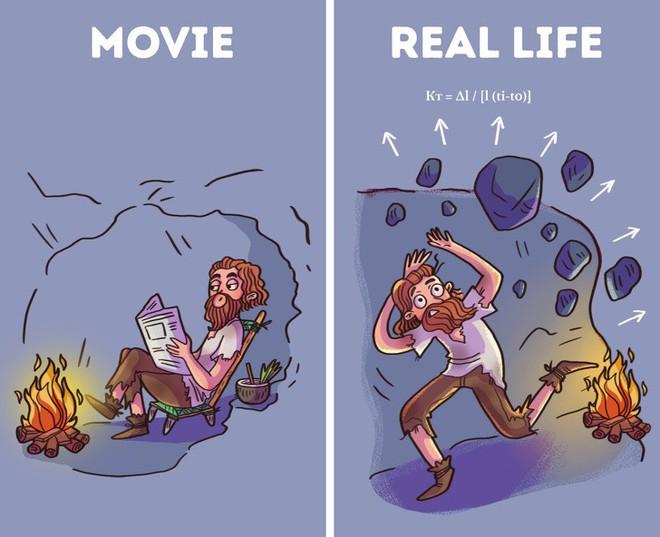 Bí kíp sinh tồn từ phim Hollywood thường được thần thánh hóa, học theo có ngày mất mạng như chơi - Ảnh 1.