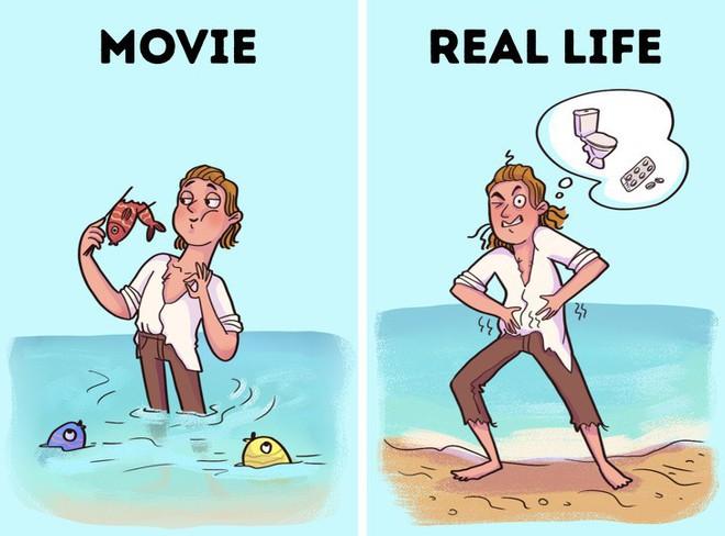 Bí kíp sinh tồn từ phim Hollywood thường được thần thánh hóa, học theo có ngày mất mạng như chơi - Ảnh 2.