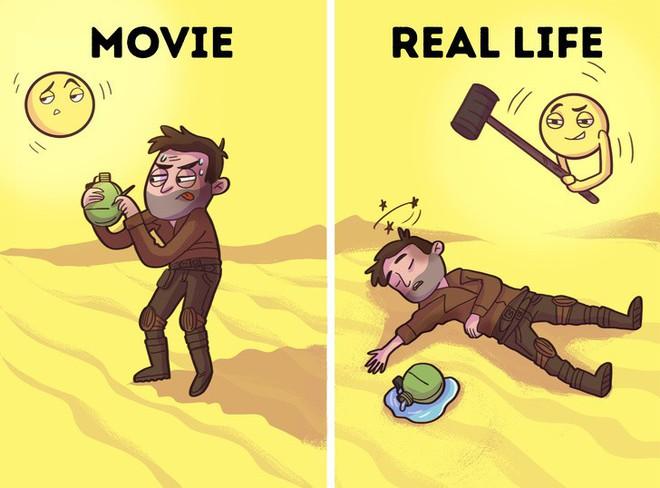 Bí kíp sinh tồn từ phim Hollywood thường được thần thánh hóa, học theo có ngày mất mạng như chơi - Ảnh 6.