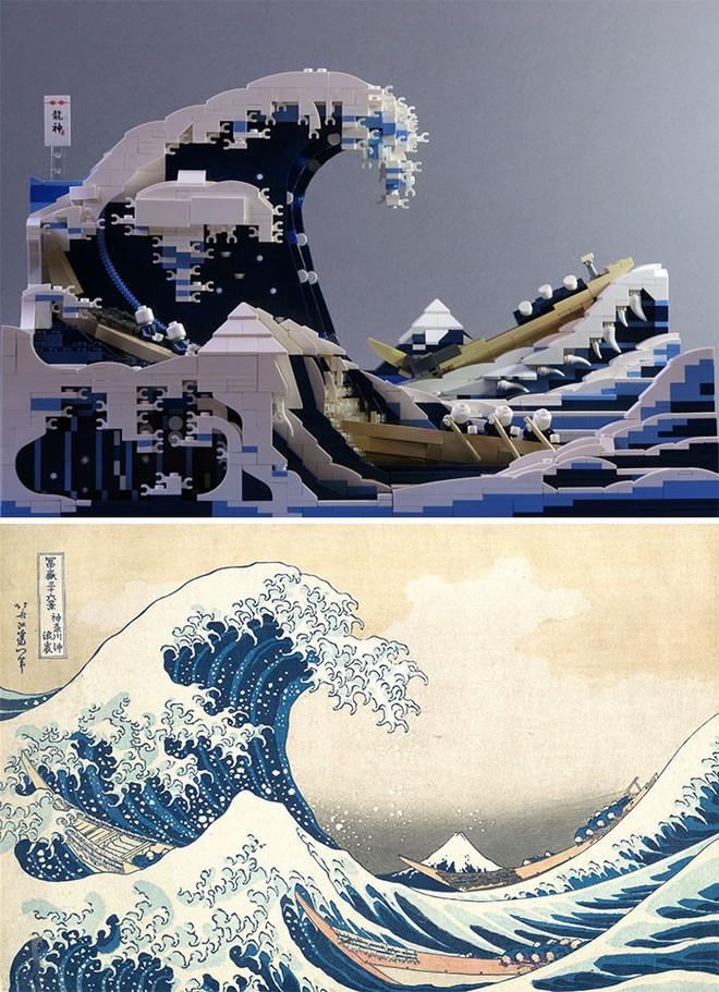 Kết quả bất ngờ khi LEGO hóa những tác phẩm nghệ thuật kinh điển - Ảnh 4.