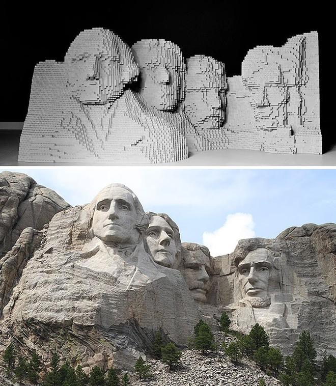 Kết quả bất ngờ khi LEGO hóa những tác phẩm nghệ thuật kinh điển - Ảnh 14.