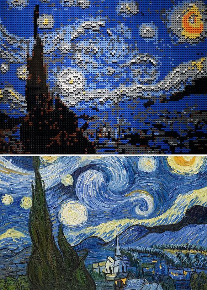 Kết quả bất ngờ khi LEGO hóa những tác phẩm nghệ thuật kinh điển - Ảnh 16.