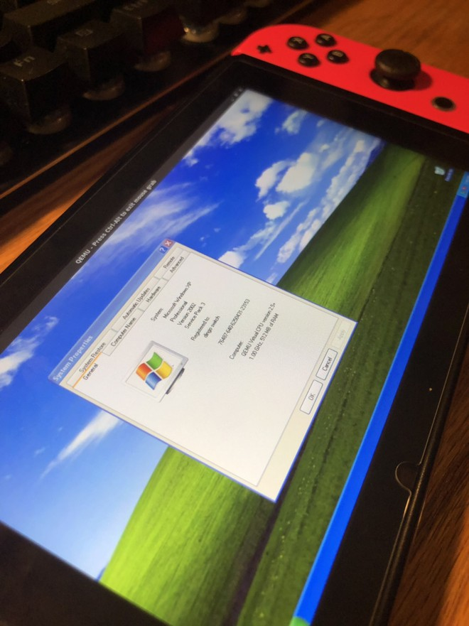 Đã có thể cài Windows XP lên Nintendo Switch, chơi được cả Pinball 3D cực mượt nhé! - Ảnh 2.
