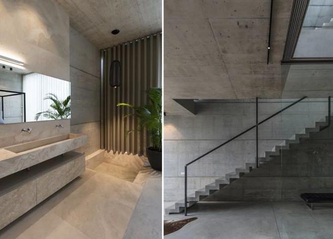 Ngắm kiến trúc nhà phố độc đáo với không gian hiện đại, có phòng tập thể dục, chiếu phim và hồ bơi trong suốt trên nóc nhà - Ảnh 10.