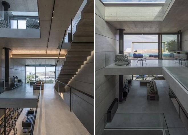 Ngắm kiến trúc nhà phố độc đáo với không gian hiện đại, có phòng tập thể dục, chiếu phim và hồ bơi trong suốt trên nóc nhà - Ảnh 12.
