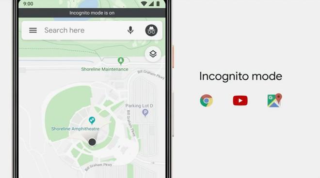 Google Maps cũng được bổ sung thêm chế độ ẩn danh Incognito Mode, đi đâu không ai biết - Ảnh 1.
